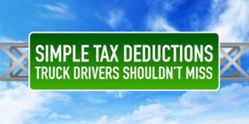Driving Truck and Getting Your 100% Per Diem & Other Tax Deductions
